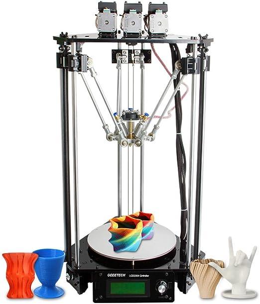 Geeetech Rostock 301 Impresora 3D DIY Equipo Color Mixto Fdm 3-En ...