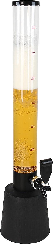 Torre de Cerveza con Grifo | 90cm Alto, max. 3,5 Litros | Cantidad a Escoger | Dispensador de la Bebida, Trago de Cerveza Torre