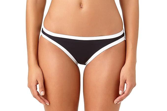 d524937a8de11 Studio Anne Cole Women s Beach Bound Solid Hipster Bikini Swim  Bottom-XS-AC15 BKWH