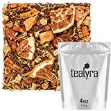 Tealyra - Mango 'n Friends - Rooibos Fruity Herbal Loose Leaf Tea Blend - Red Bush - Pineapple - Orange - Strawberry - Caffeine-Free - Vitamines Rich - Hot and Iced - 110g (4-ounce)