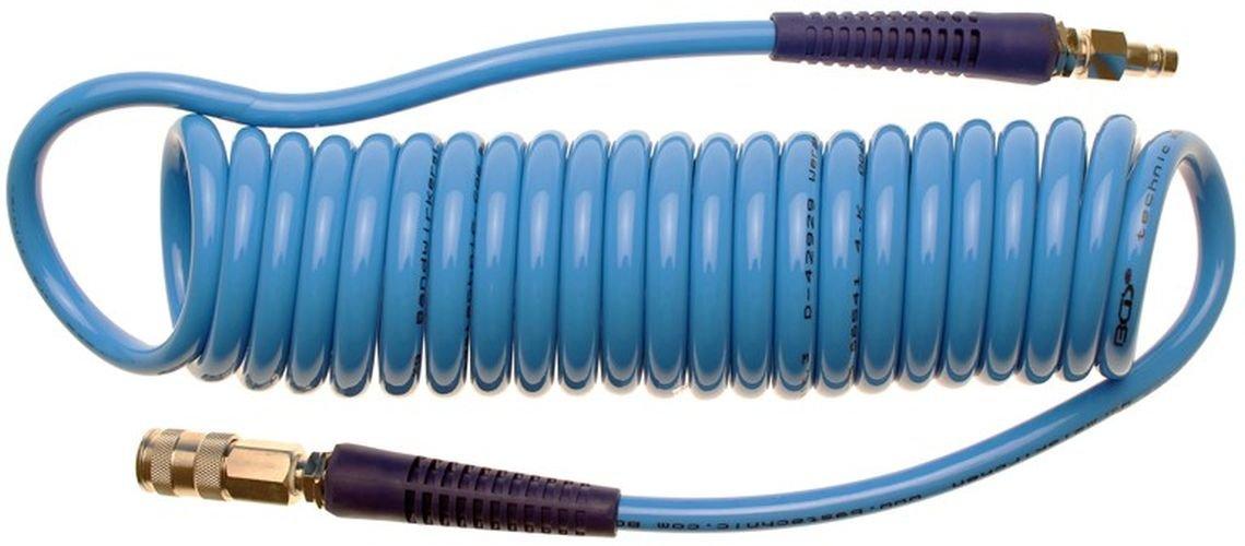 7 66541 compressed air spiral hose 8 x 12 cm x 6 m