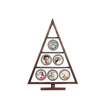 Amazoncom Edgewood Northwood Walnut Family Tree Frame Hanging Six