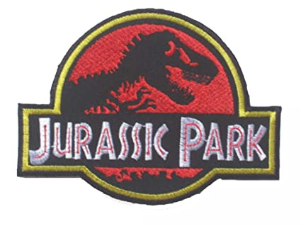 Jurassic Park LOGO OFFICER Sew Ironed Patch Badge Embroidery J 01