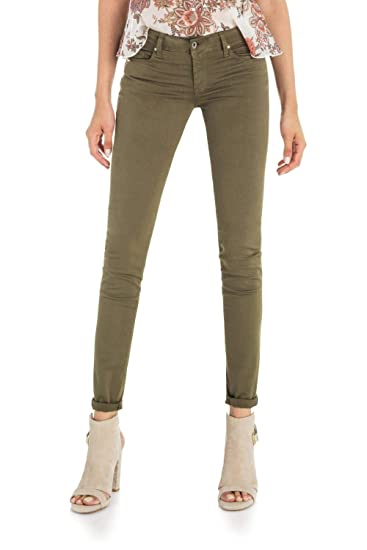 0ac50ab3b9 Salsa Skinny Colette Trousers in Coloured Fabric: Amazon.co.uk: Clothing