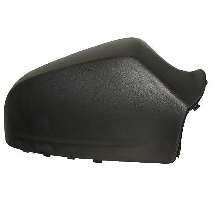 Uzinb Conductor Lateral Derecho Negro ala Cubierta del Espejo Cabeza de la Caja Compatible para Opel