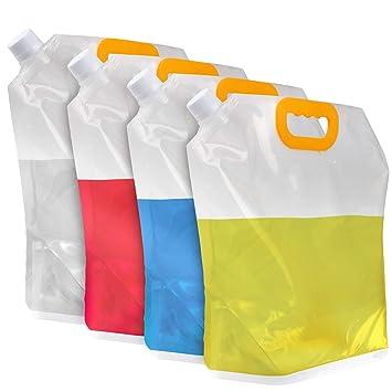 Amazon.com: Depósito de agua plegable, contenedor BPA para ...