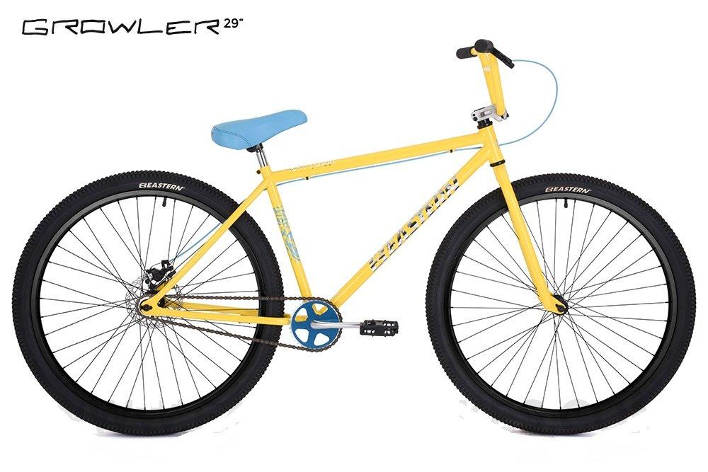 Eastern Growler 29インチバイク2017自転車イエロー B077NT99BD