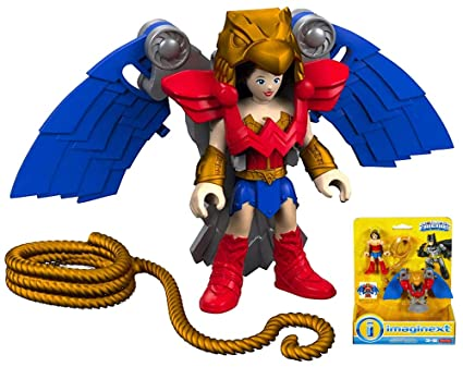 Amazon.com: Wonder Woman with Flight Suit DC Super Friends ...