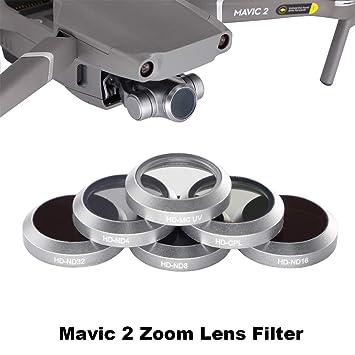 Desconocido Dron Lente Filtro Gimbal cámara UV CPL ND4 ND8 ND16 ...