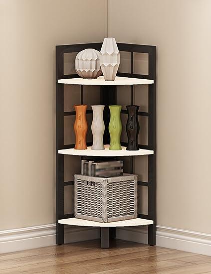 Amazoncom Floor Standing Bedroom Bookshelf Living Room
