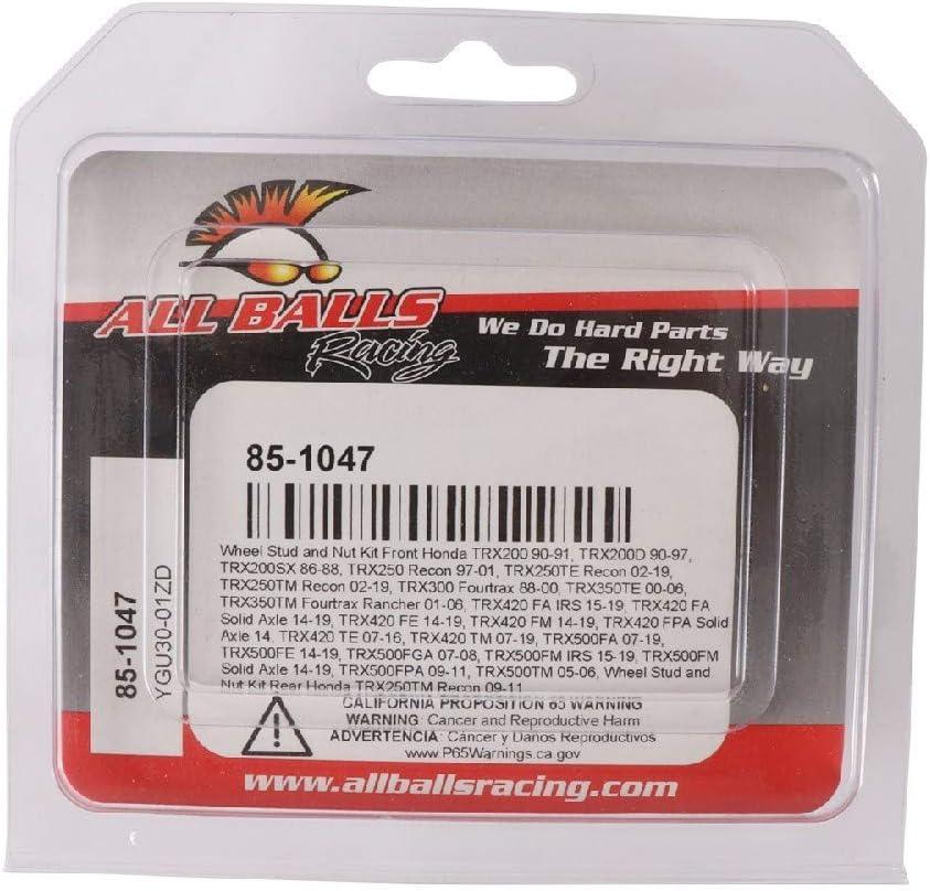 All Balls Racing 85-1047 Wheel Stud and Nut Kit