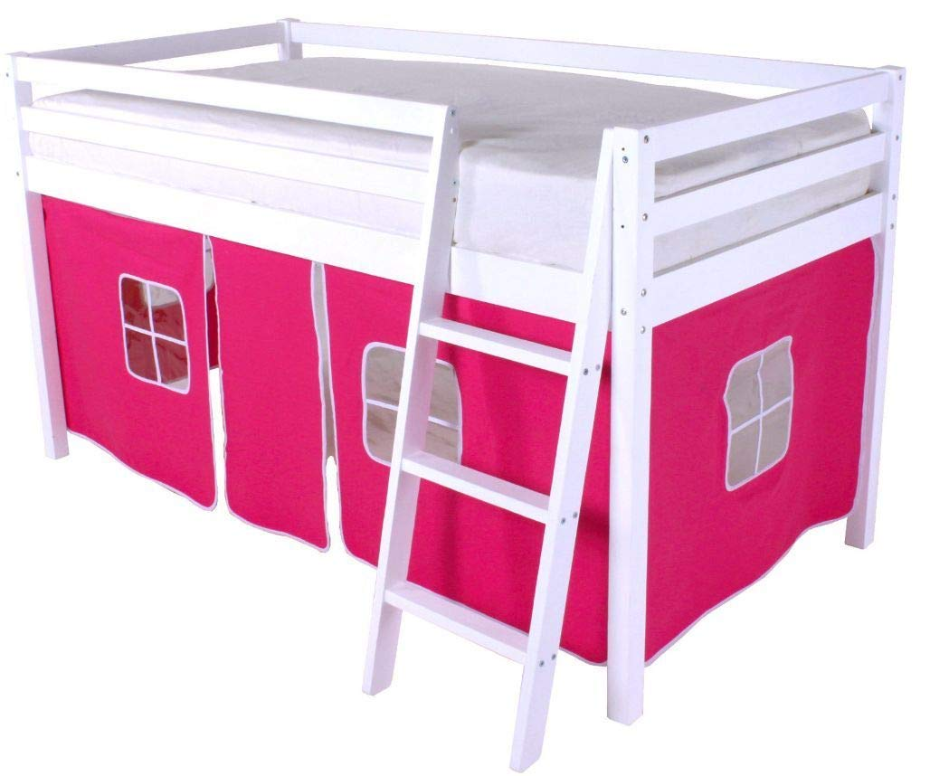 HLS Pink Tent for Midsleeper Cabin Bunk Bed … Home Leisure Stores