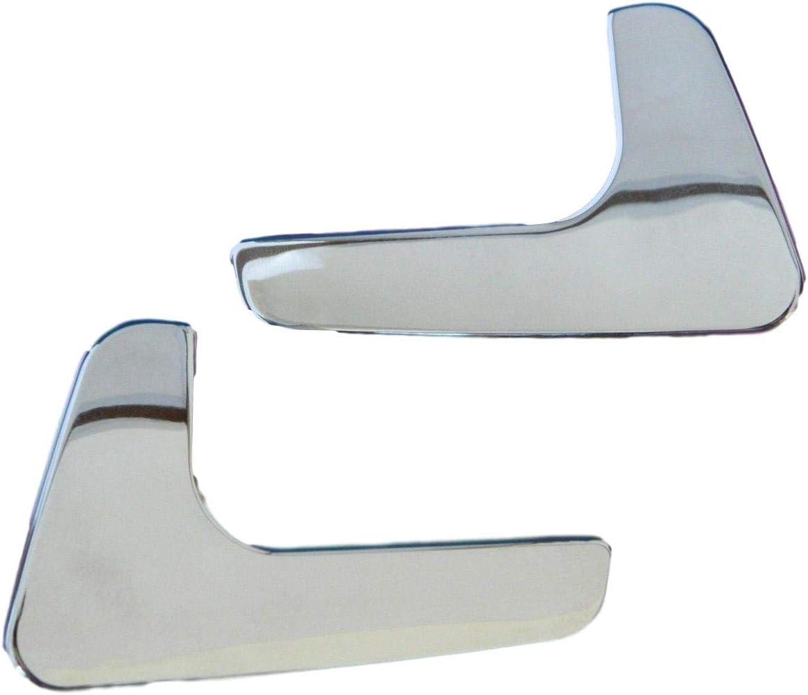 HLY/_Autoparts Aluminiumbeschichteter Innent/ürgriff f/ür Links und rechts f/ür Seat Ibiza und Cordoba 1998-2003