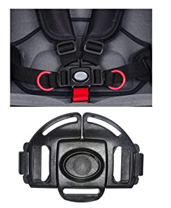 Stroller and Car Seat Replacement Parts/Accessories to fit BOB Products for Babies, Toddlers, and Children (Harness Buckle ONLY)