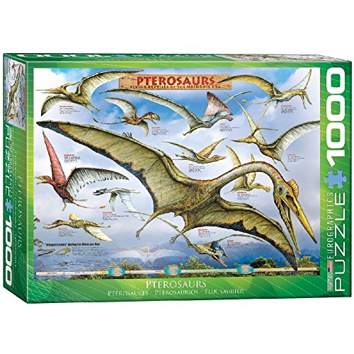EuroGraphics Pterosaurs Jigsaw Puzzle (1000-Piece)