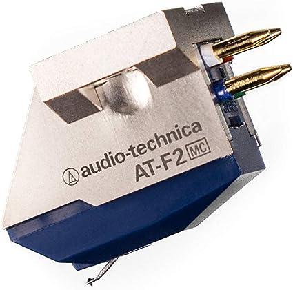 Audio-Technica at-f2 fonorivelatore a Bobina Mobile (MC) con imán ...