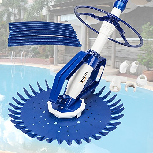 - VINGLI Swimming Pool Vacuum Cleaner Automatic Sweeper