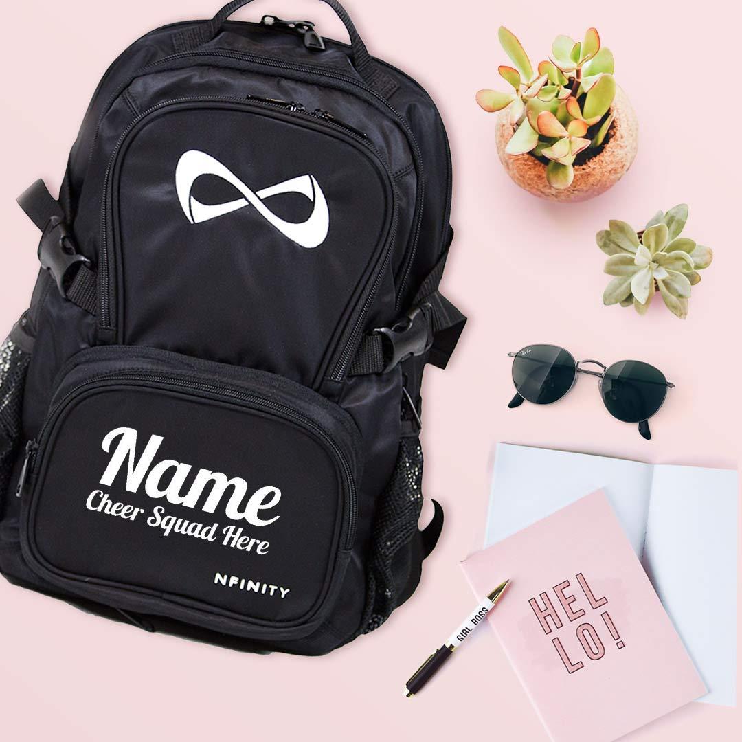 Cheerleader Custom Bag Nfinity Black Backpack Bag