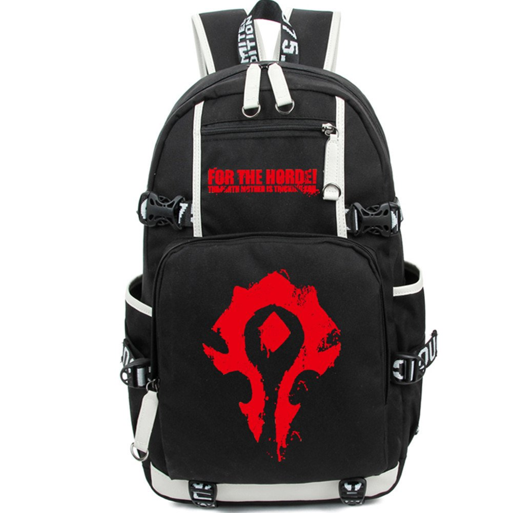 World of Warcraft Schoolbag Backpack Students Bookbag Handbags Travelbag