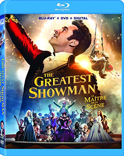 The Greatest Showman (Bilingual) [Blu-ray + DVD + Digital Copy]