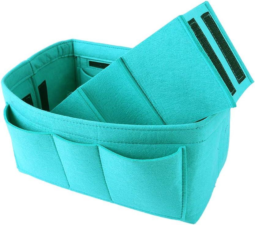 Medium, Cement Gray Tote Insert Organizer Bag