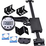 """Yescom 6"""" Remote Digital DRO Quill Large LCD Readout Scale Measure Range 0-6"""" Vertical for Bridgeport Mill Lathe"""