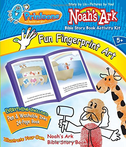 Printoons! Noah's Ark: Storybook Activity Kit