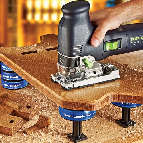 Bench Cookie Plus Work Grippers with Bench Cookie Risers by Rockler (Image #3)
