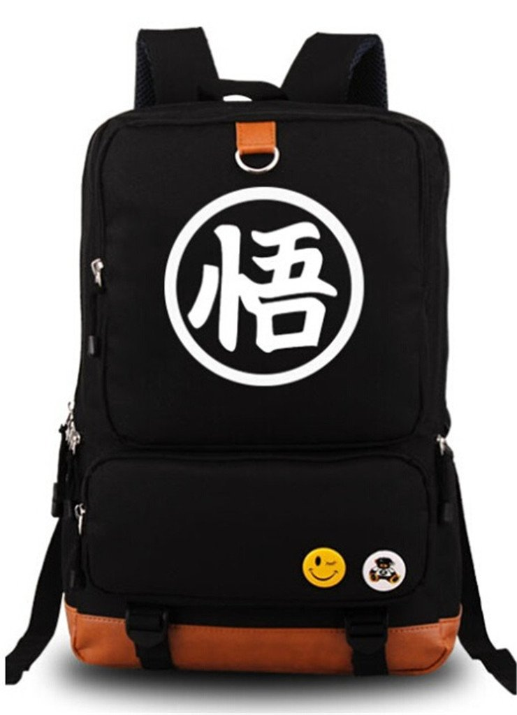 Siawasey Dragon Ball Z Anime Goku Cosplay Luminous Backpack Shoulder Bag School Bag