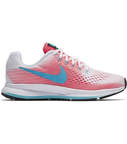 cf0c328a9cff NIKE Zoom Pegasus 34 (gs) Big Kids 881954-100  Amazon.co.uk  Shoes   Bags