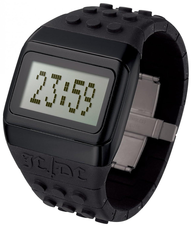 ODM JC01-13 Unisex JD - DC Pop Hours Schwarz Plastikband GreyDigital Zifferblatt Uhr