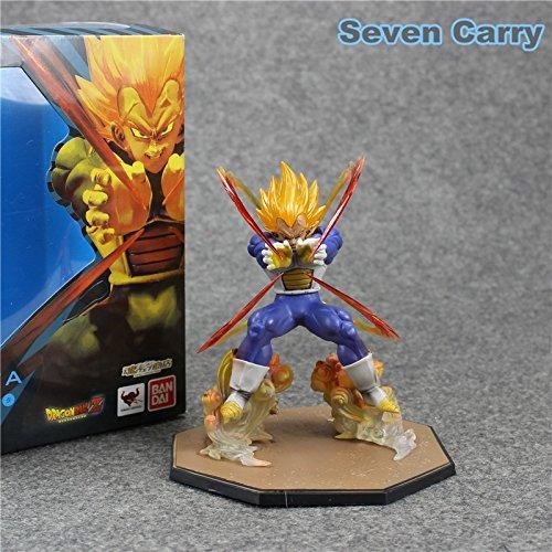 [Dragon Ball Z Super Saiyan Vegeta Battle Ver. PVC Flash Action Figure Model Collection Toys 6