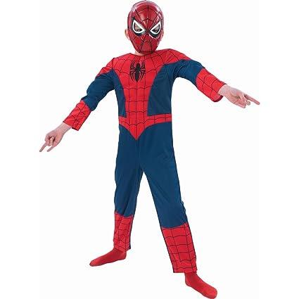 Disfraz de araña super héroe Spiderman para disfraz de los ...