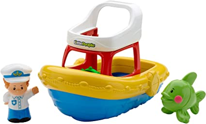 Fisher-Price Little People Floaty Boat by Fisher-Price: Amazon.es: Juguetes y juegos