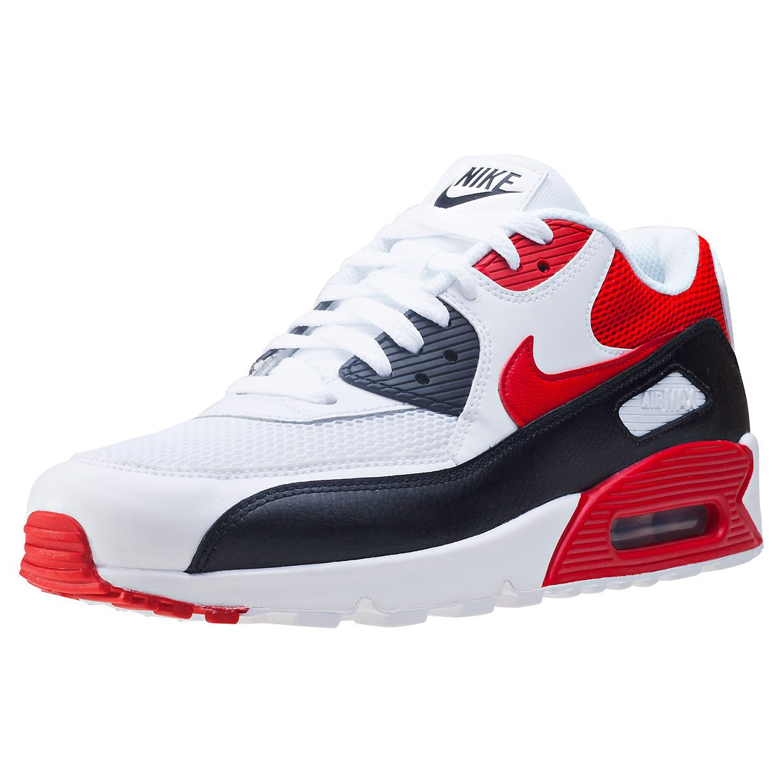 Nike Air Max 90 Essential University Red White Blackened