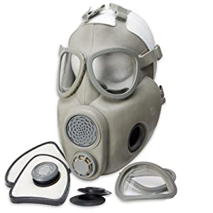 6. Czech M10 Gas Mask with a Carry Bag