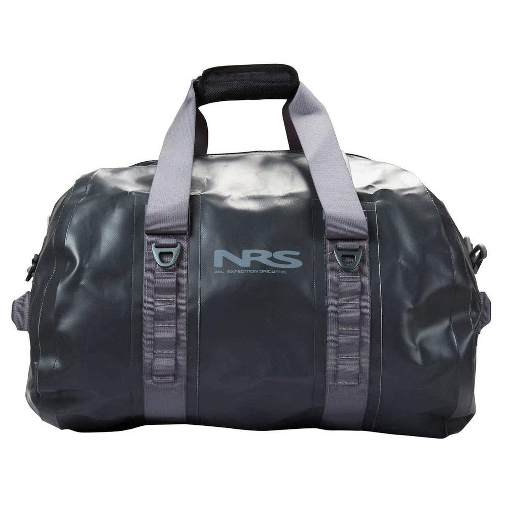 NRS Expedition DriDuffel Dry Bag, 35L Flint Black One Size