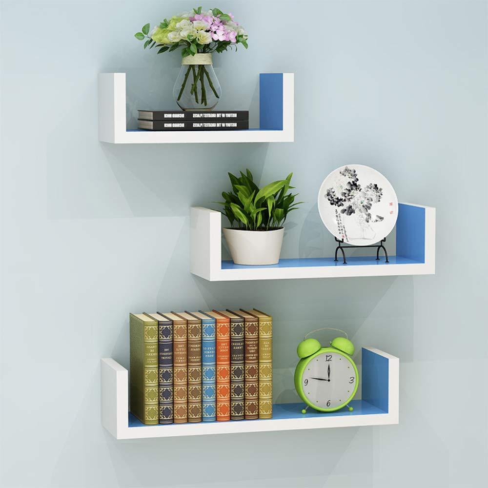 Amazon.com: Xiaomei Wall Shelf Living Room Wall Panel Bedroom Multi ...