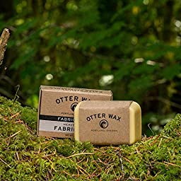 Otter Wax Fabric & Canvas Wax   Regular Bar   All-Natural Water Repellent   Made in USA
