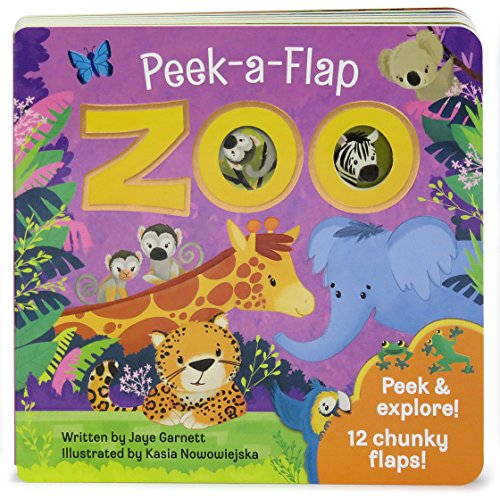 Zoo: Peek-a-Flap Board Book -