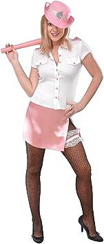 Pinkie - Disfraz de policía sexy para mujer, talla 10 (AC668 ...