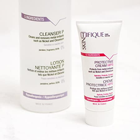 Metal y níquel unidades - protege la piel de metales (níquel, cromo, cobalto.) para hasta 14h. Hidrata intensa. Limpia suavemente. Probada Eficacia.