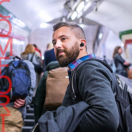 Bluetooth Headphones,Dveda True Wireless Stereo Earbuds Dual Bluetooth Headsets with Charging Box Built-in Mic and Noise Cancelling Stereo for iPhone and Android by DVEDA (Image #4)