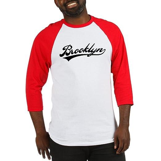 best website 36af2 9284a Amazon.com: CafePress Brooklyn Baseball Logo Baseball Jersey ...