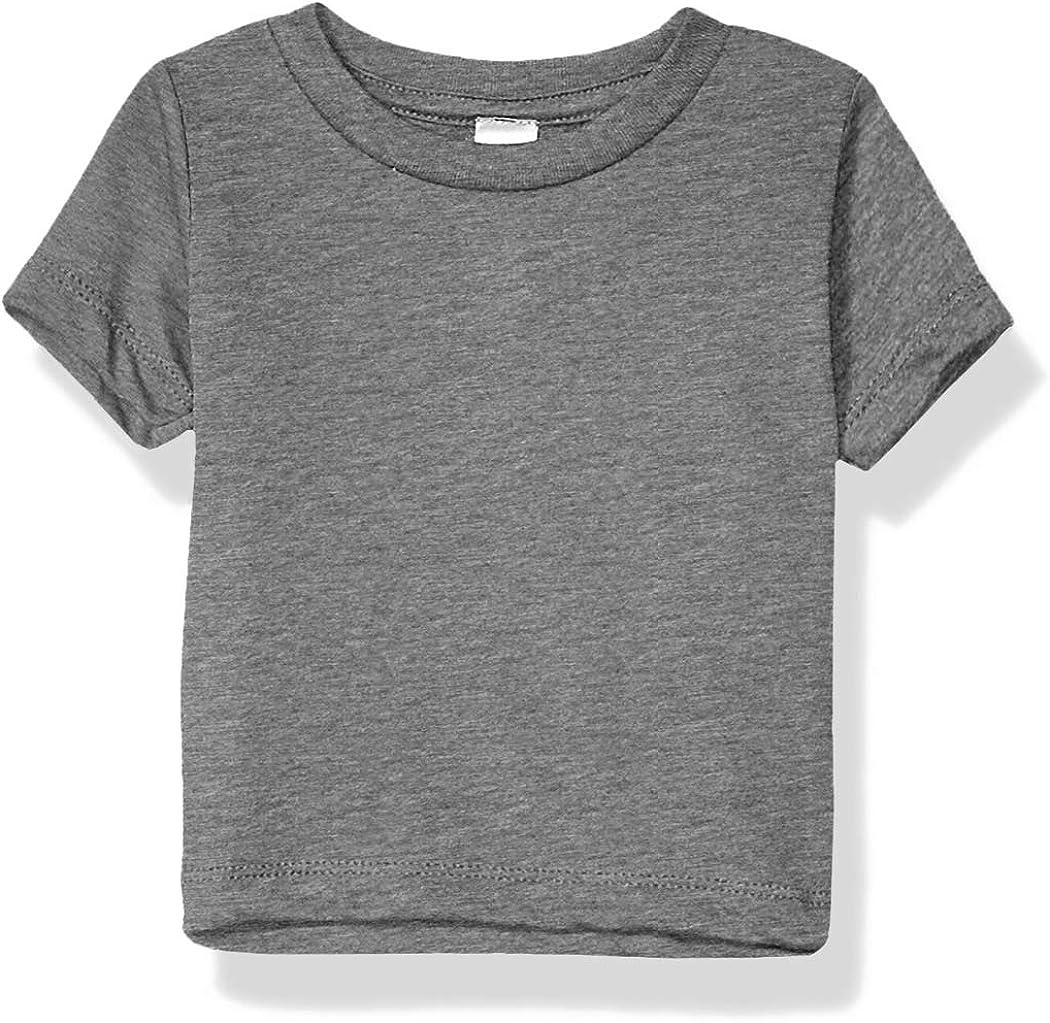 Marky G Apparel Baby Boys Triblend Short Sleeve Crewneck T-Shirt