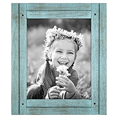 Americanflat Distressed Wood Frame - Single