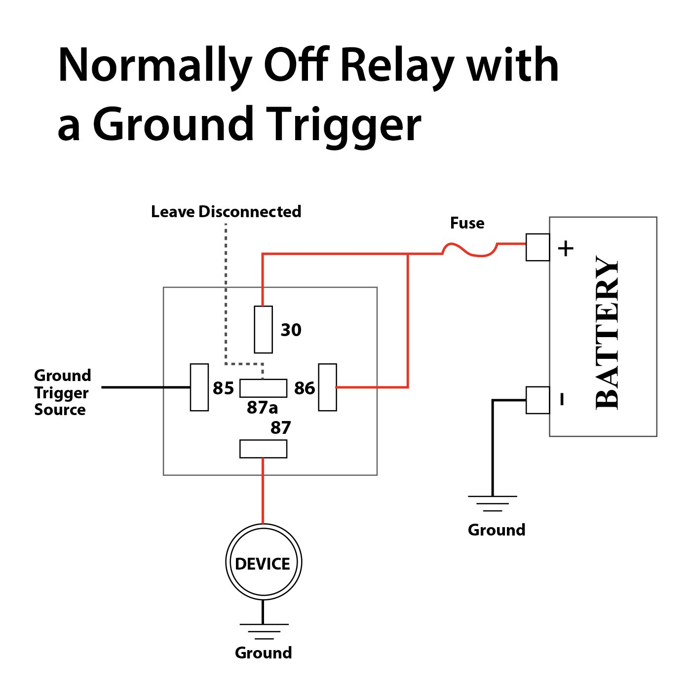 Dc 5 Pin Relay Wiring. 5 Pin 12 Volt Relay, 5 Pin Relay ... Dc Pin Relay Wiring on