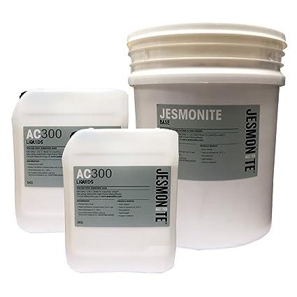 Jesmonite AC300 con base de agua resina para moldear de poliuretano 35 kg Kit