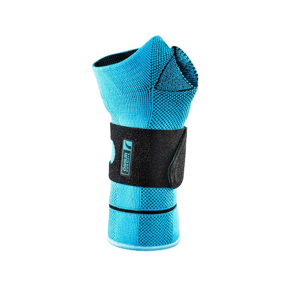 Ossur FormFit Pro Wrist Brace (Blue, Small, Right)