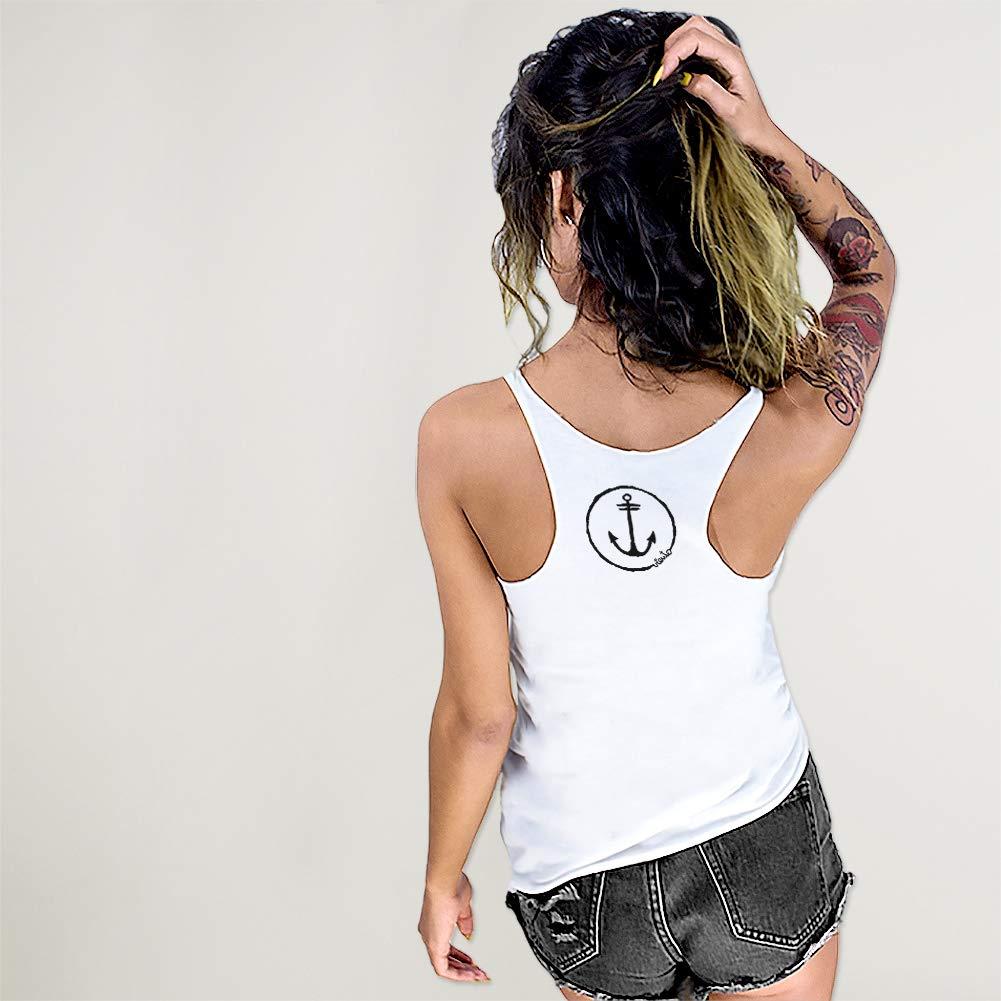 VIENTO Lighthouse Camiseta de Tirantes para Mujer